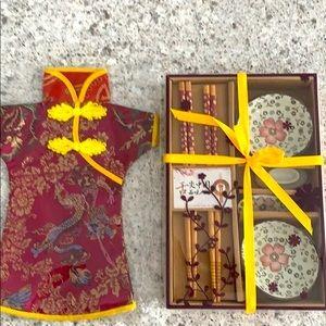 Authentic Japanese Chopsticks Gift Set